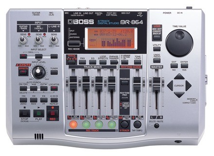 Boss BR-864 8-Track Digital Studio