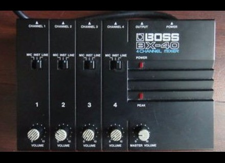 Boss BX-40 4 channel mixer