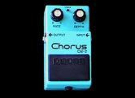 Boss CE-2 Chorus - Modded by Keeley