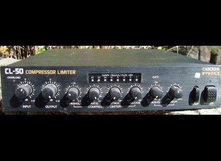 Boss CL-50 Compressor Limiter