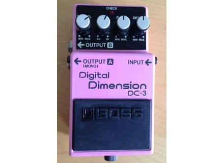 Boss DC-3 Digital Dimension & Digital Space-D
