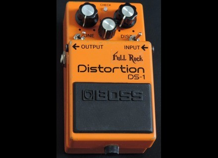 Boss DS-1 Distortion - Full Rock - Modded by MSM Workshop