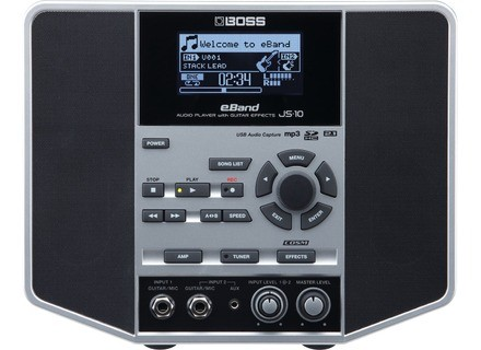 Boss eBand JS-10 Audio Player w/ Guitar Effects
