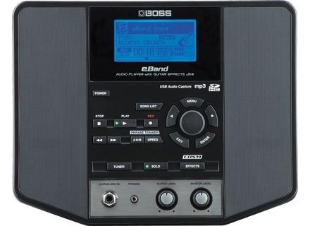 Boss eBand JS-8 Audio Player w/ Guitar Effects