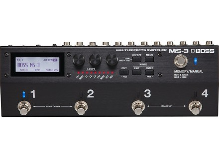 Boss MS-3 Switcher Multi-effets