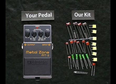 Boss MT-2 Metal Zone - Modded by Fromel