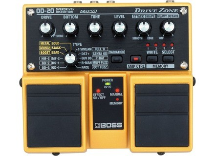 Boss Twin Pedals