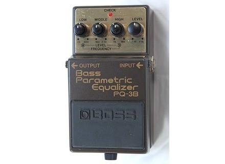 Boss PQ-3B Bass Parametric Equalizer