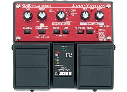 Boss RC-20  Loop Station