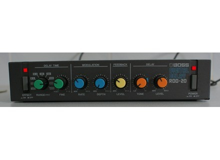 Boss RDD-20 Digital Delay