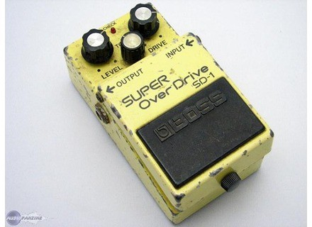 Boss SD-1 SUPER OverDrive (Japan)