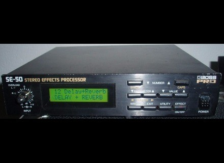 Boss SE-50 Stereo Effects Processor