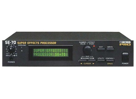 Boss SE-70 Super Effects Processor