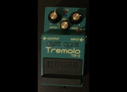 Boss TR-2 Tremolo - Chante Cloche - Modded by MSM Workshop