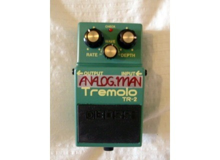 Boss TR-2 Tremolo - Modded by Analogman