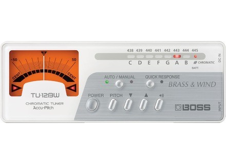 Boss TU-12BW Brass & Wind Chromatic Tuner