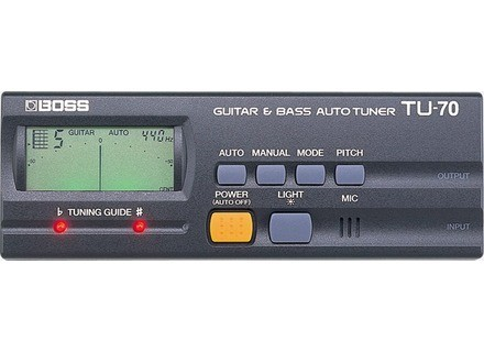 Boss TU-70 Guitar & Bass Auto Tuner