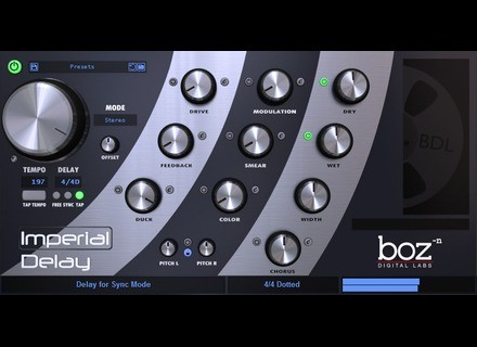 Boz Digital Labs Imperial Delay