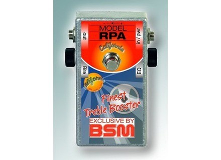 Bsm RPM California