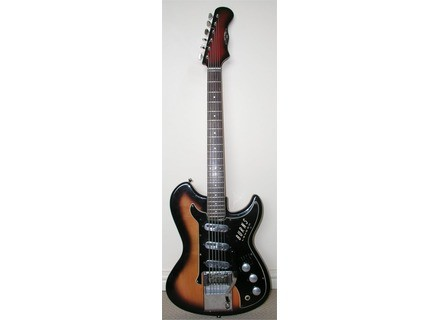 Burns Guitars Split Sound 6 string Bass