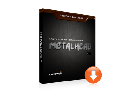 Cakewalk Chocolate Cake Drums: MetalHead Kit