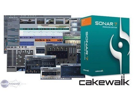 Cakewalk Sonar 7 Producer Edition