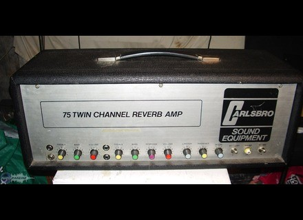 Carlsbro 75 Twin Channel Reverb Amp