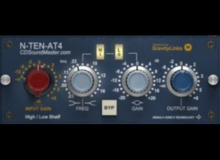 CDSoundMaster N-TEN-AT4 VST Vintage Console Channel Strip