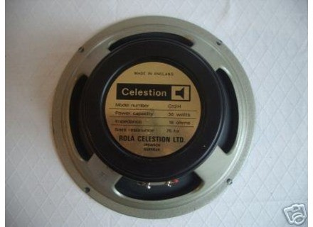 Celestion G12H30 Black Back
