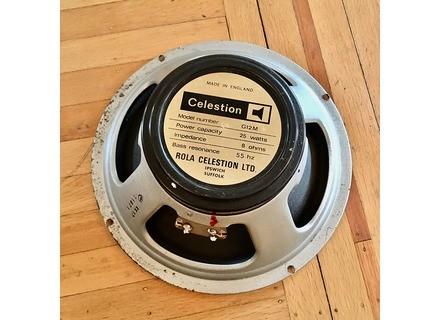 Celestion G12M25 Blackback