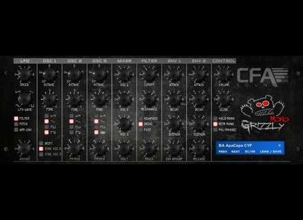 CFA-Sound MonoGrizzly