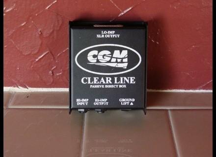CGM Prods. Clear Line Passive DI