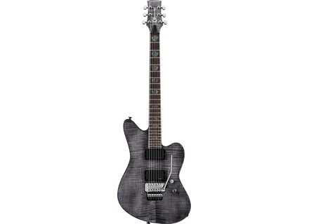 Charvel Desolation Skatecaster SK-1 FR - Transparent Black