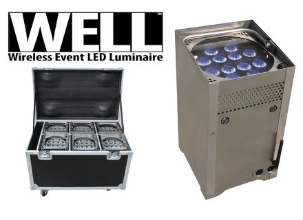 Chauvet Wireless Event LED Luminaire