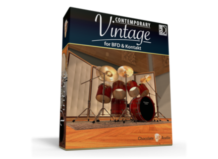 Chocolate Audio Contemporary Vintage Drums