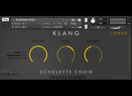 Cinematique Instruments Echolette Choir