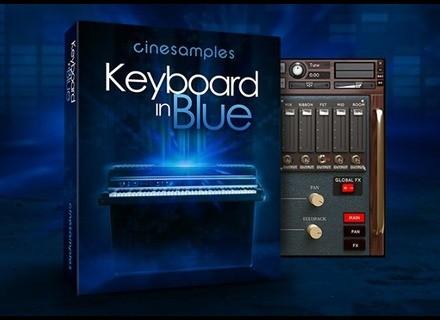 Cinesamples Keyboard in Blue