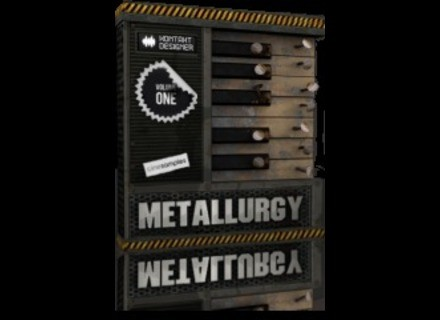 Cinesamples KONTAKT DESIGNER: VOLUME 1 METALLURGY