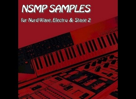 Clavia NSMP samples Nord Wave, Electro, Stage 2
