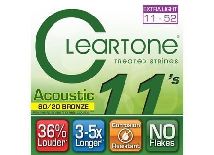 Cleartone Strings Acoustic 80/20 Bronze