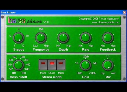 Clone Ensemble Bass Phaser