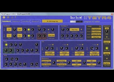 codeKnobs DSI Tetra Program Editor