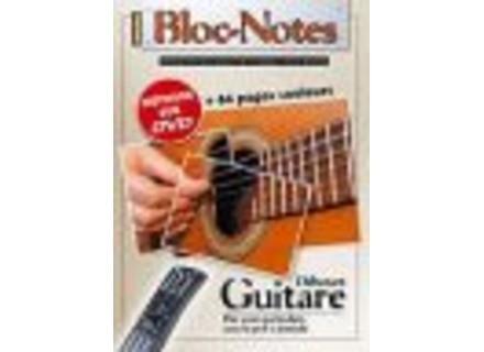 Coup de pouce Bloc Notes Débutant Guitare