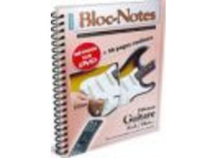 Coup de pouce Bloc Notes Débutant Guitare Rock