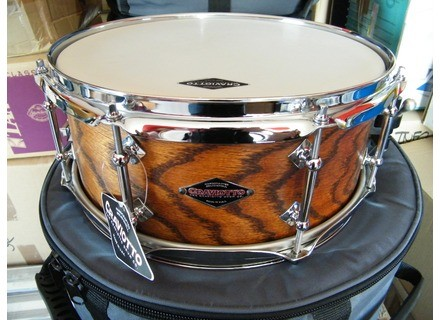 Craviotto Custom Shop Solid Ash with Walnut Stain 13x5,5