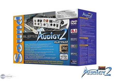 Creative Labs Sound Blaster Audigy 2 Platinum