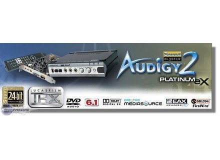 Creative Labs Sound Blaster Audigy 2 Platinum EX