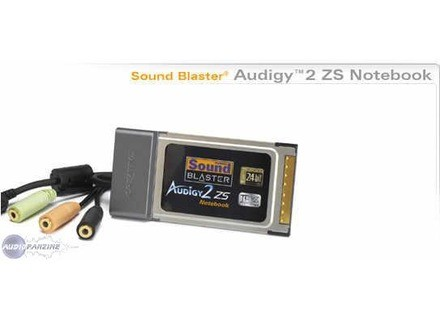 Creative Labs Sound Blaster Audigy 2 ZS Notebook