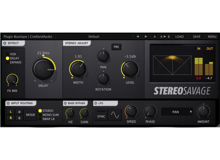 Credland Audio Stereo Savage