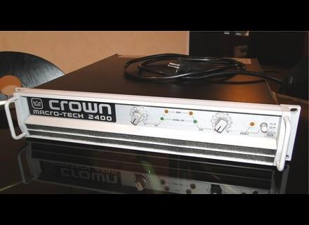 Crown Macro-Tech 2400